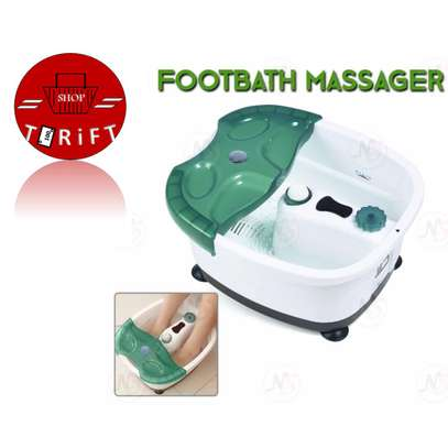 Multifunction Footbath Massager 1. Automatic heating and temperature preservation image 2