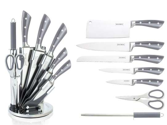 Royalty Line 8-Piece Stainless Steel Knife Set