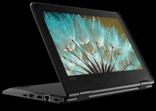 Lenovo brand new quad core   processor laptop 360° touch screen image 2