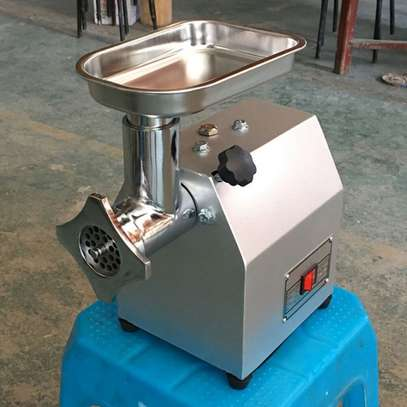 60kg/h Commercial 220V Electric Meat grinder Stainless steel Home Use 400W image 2