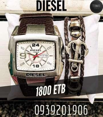 Diesel Men's Watch + Bracelets