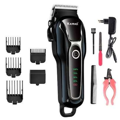 Kemei professional chargable hair clipper image 2