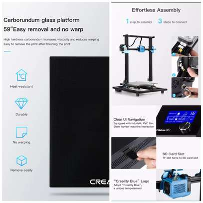 CREALITY CR-10 V2 3D Printer; Large Printing Size, Silent Mainboard, Resume Printing with MeanWell Power Supply image 9