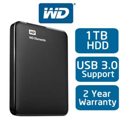 Western Digital Elements 1TB HDD