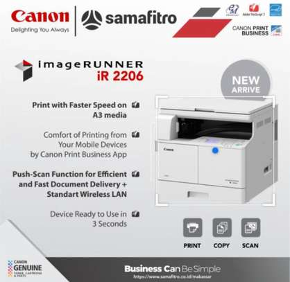 Cannon IR 2206 (Copy, Print & Scan )