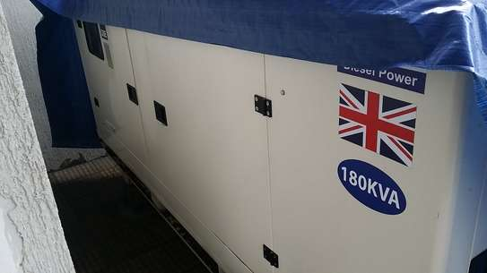 Brand new Parkins Generator 180 KVA imported from Germany.