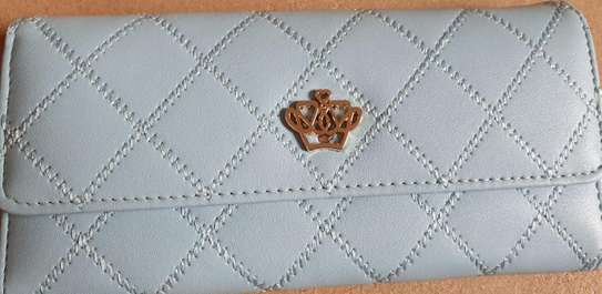 Crown Long Wallet