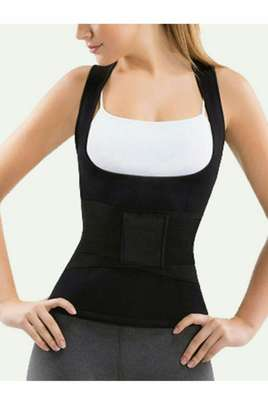 Waist Trainer Cincher Girdle With Vest Set 2 pcs