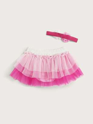 Purple And Pink Kids Dress