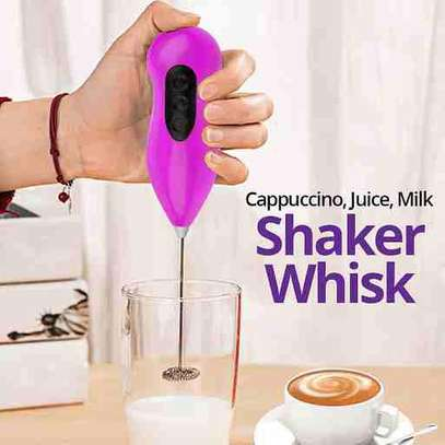 Cappuccino, Juice, Milk Shaker Whisk, ER14 CP Assorted Color