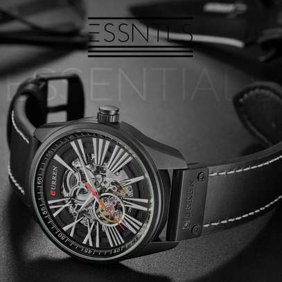 curren automatic watch