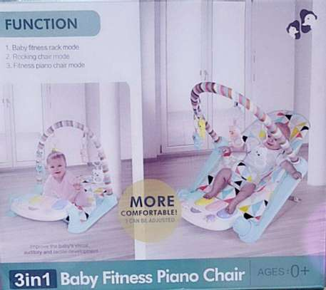 3 in 1 Baby Fitness Piano Chair