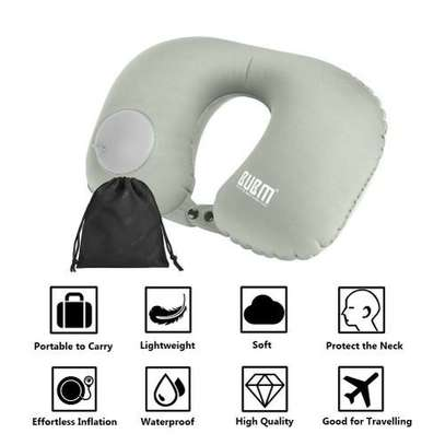 BUBM Travel Neck Pillow Inflatable Portable Pillow image 1