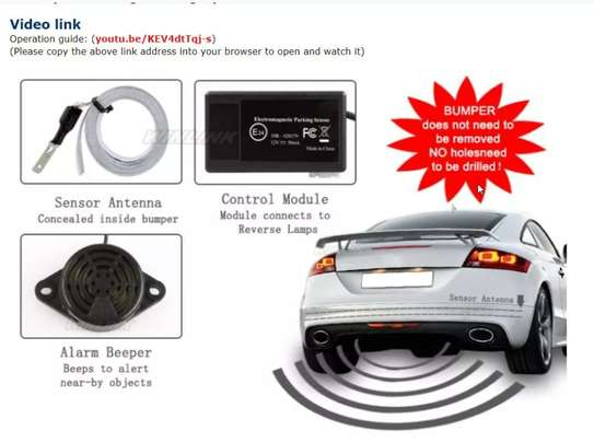 Car parking radar sensor Electromagnetic-Quality parking system