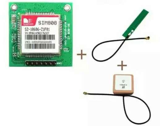 GSM GPS SIM808 Breakout Board,SIM808 core board,Quad band GSM GPRS Module Integrated GPS Bluetooth Module with Antenna