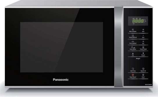 Panasonic microwave Oven NNST34H Silver/Black 800W