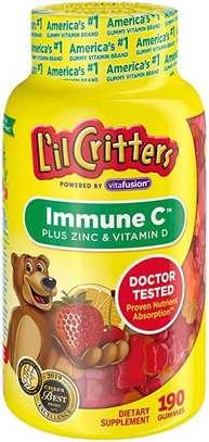 Lil Critters Immune C , Zinc & Vitamin D image 1