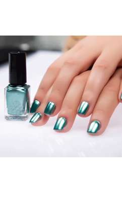 FINAL SALE 6pc Metallic mirror effect nail polish image 3
