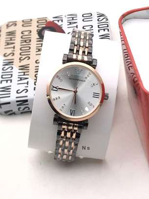 Emporio Armani Hand Watch For Ladies
