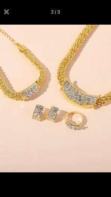 4 Pcs Rhinestone Jewelry image 1