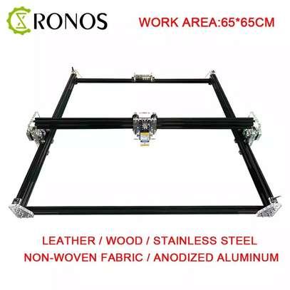 CRONOS 65*65cm 15W/30W Laser Engraving Machine, fixed focus 2Axis Desktop DIY Laser Engraver image 1