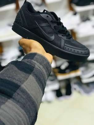 Black Nike Shoes image 1