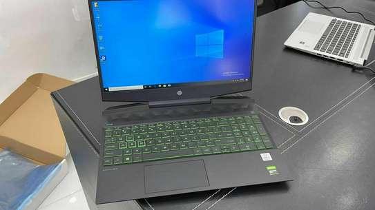 ✍9th generation Ultra-slim power pavilion Gaming Laptop with black edition ✍  HP Power Pavilion gamimg Model 9th generation   ✔️Hexa-Core processor  ✔️10th Generation Intel Core  i7-9705 image 1