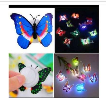 6 Piece Set Led Light Butterfly
