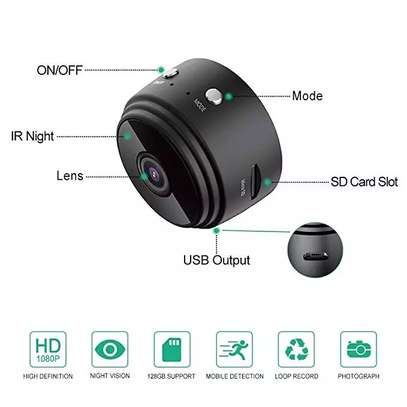 Mini security camera which supports live stream video image 3