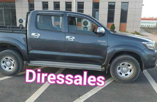 2013 Model Toyota Hilux Double Cab For Rent