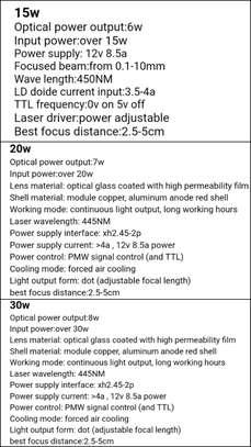 FEUNGSAKE 200*150cm 15W/20W/30W Laser Engraving Machine image 3
