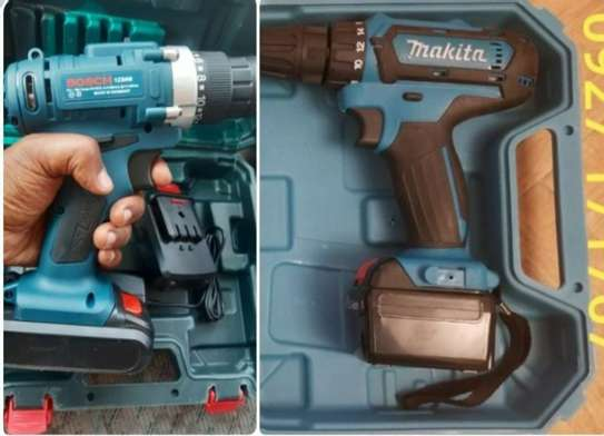 Makita & Bosch Rechargeable Drill
