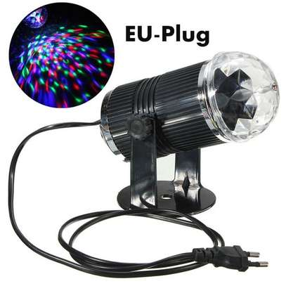 3W RGB Magic Rotating Ball Effect Led Stage Lights image 1