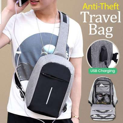 Anti - Theft Travel Bag