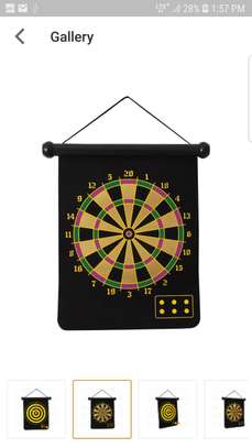 Safety Magnetic 2 -Sided Dart Board