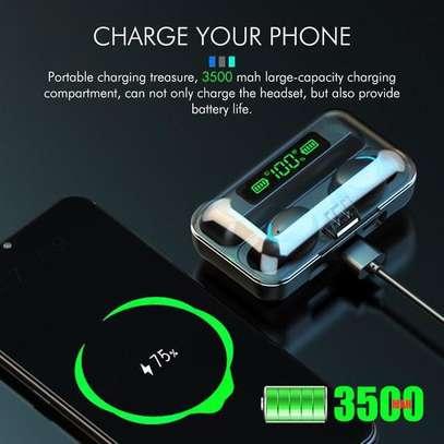 TWS Original ear phone whit power banke on case image 1