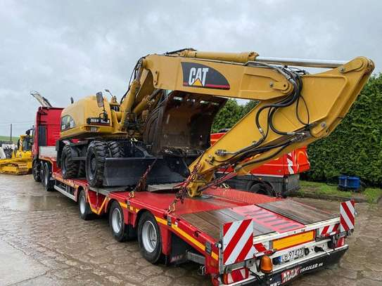 2006 Model Cat Wheeled Excavator