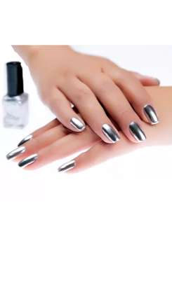 FINAL SALE 6pc Metallic mirror effect nail polish image 4