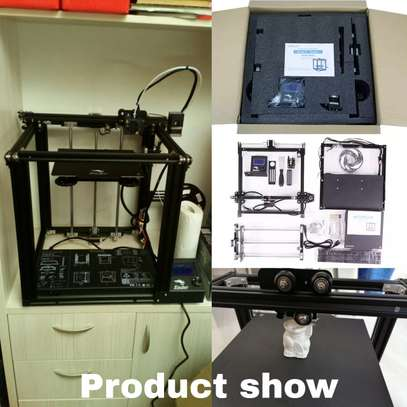 CREALITY Ender-5 3D Printer; Dual Y-axis Motors; Magnetic Build Plate; Power off Resume Printing; Enclosed Structure image 9