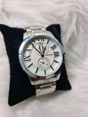 Cartier Men's Watch With Box image 3
