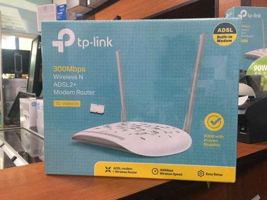 p-link 300Mbps Wireless N ADSL2+ Modem Router image 1