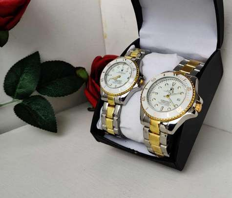 Rolex Couple Watch (Valentine Gift) image 3