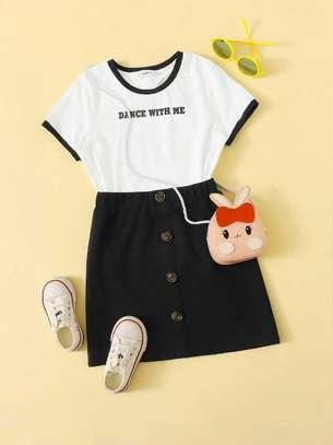 Dress and T-Shirt