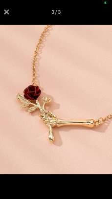 Rose Charm Necklace image 1