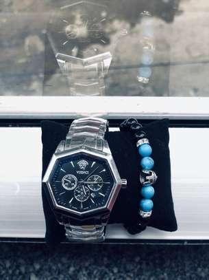 Versace Watch With  Bracelet