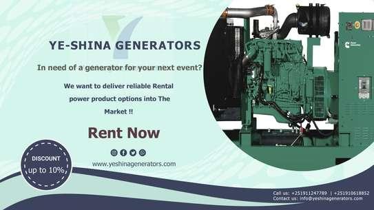 Yeshina Generator Rental image 3
