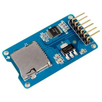 Micro SD card Mini TF Card Reader Module SPI Interfaces With Level Converter Chip For Arduino image 1