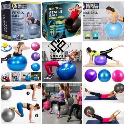 8 Series Fitness Ball for yoga image 1