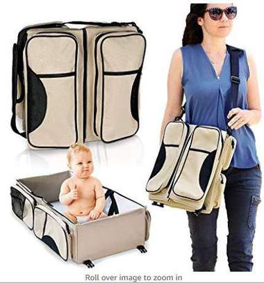 Portable Baby Bed Infant Travel Bed 3 in 1 Multi-Functional Folding Bag