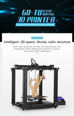 CREALITY Ender-5 Pro 3D Printer; Silent Board Pre-installed; Magnetic Build Plate; Power off Resume Printing; Enclosed Structure image 1